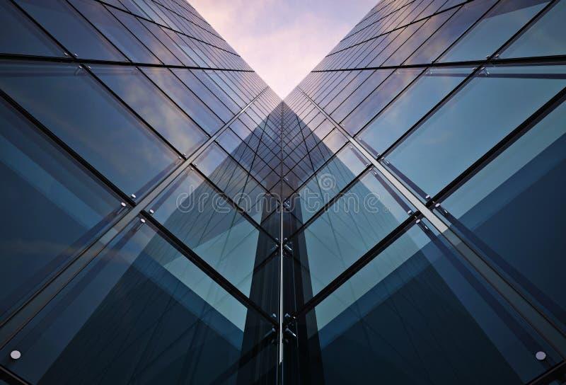 Корпоративная концепция здания бесплатная иллюстрация