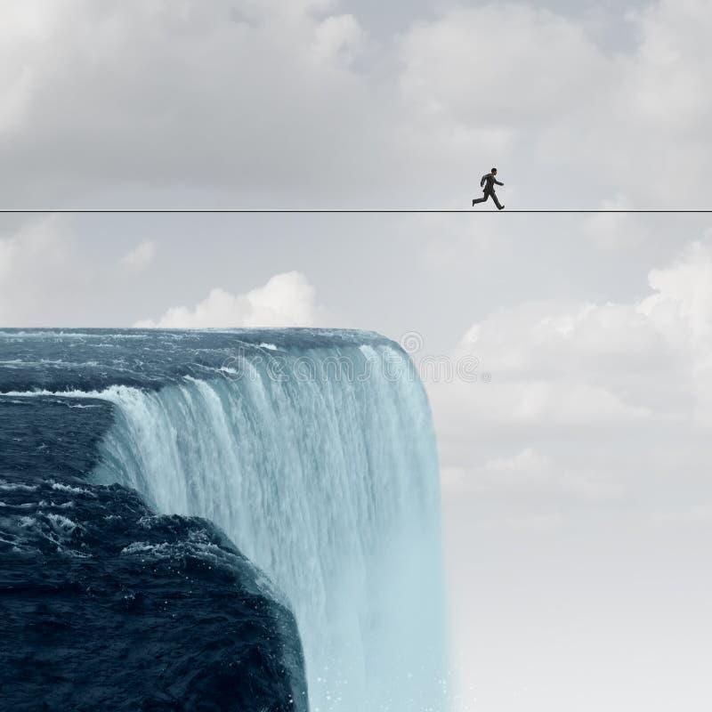 Корпоративная смелость как любитель рисков бесплатная иллюстрация