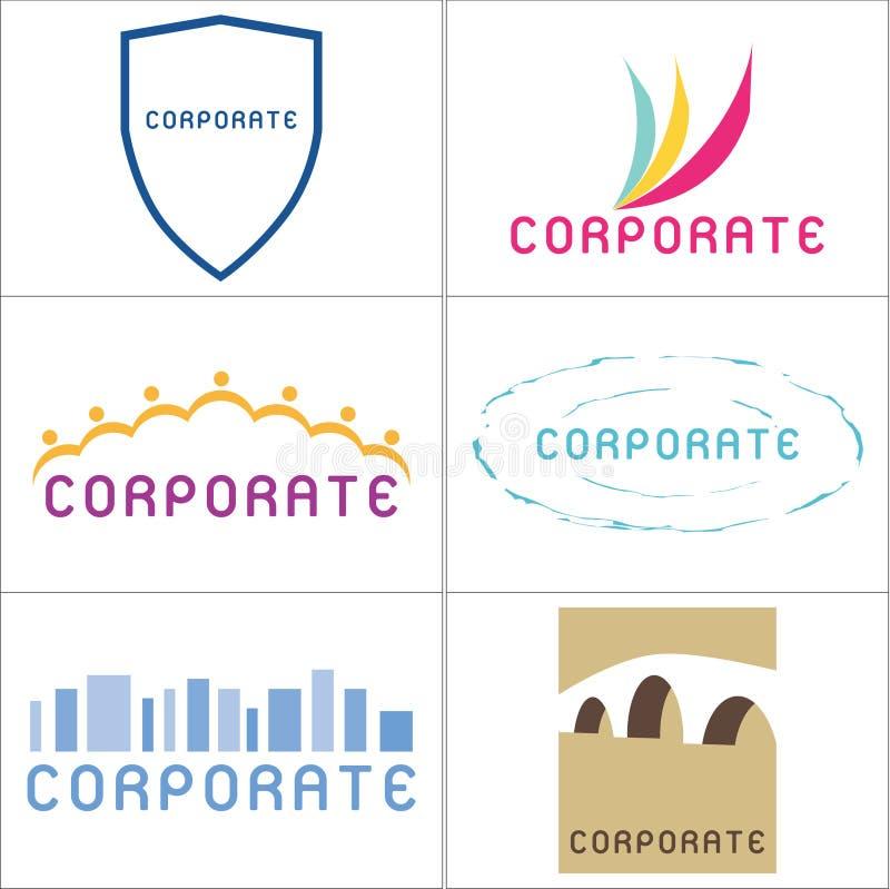 корпоративные логосы бесплатная иллюстрация