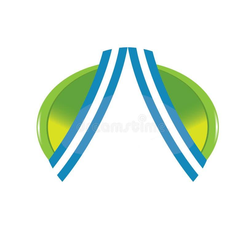 корпоративный логос иллюстрация вектора