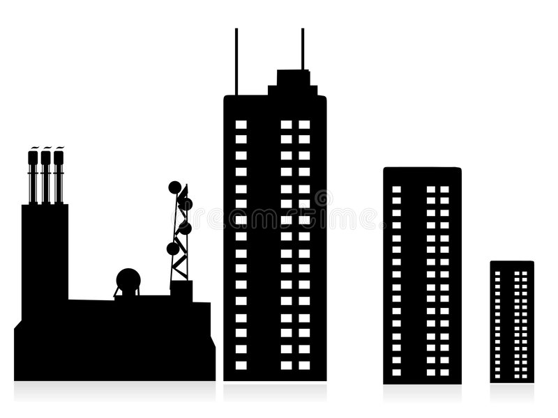 корпорация иллюстрация вектора