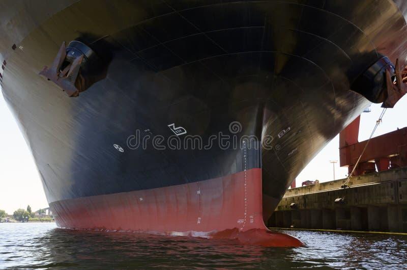 Корпус контейнеровоза стоковые фотографии rf