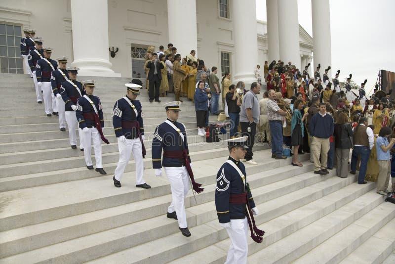 Корпус техника Вирджиния кадетов стоковые фото