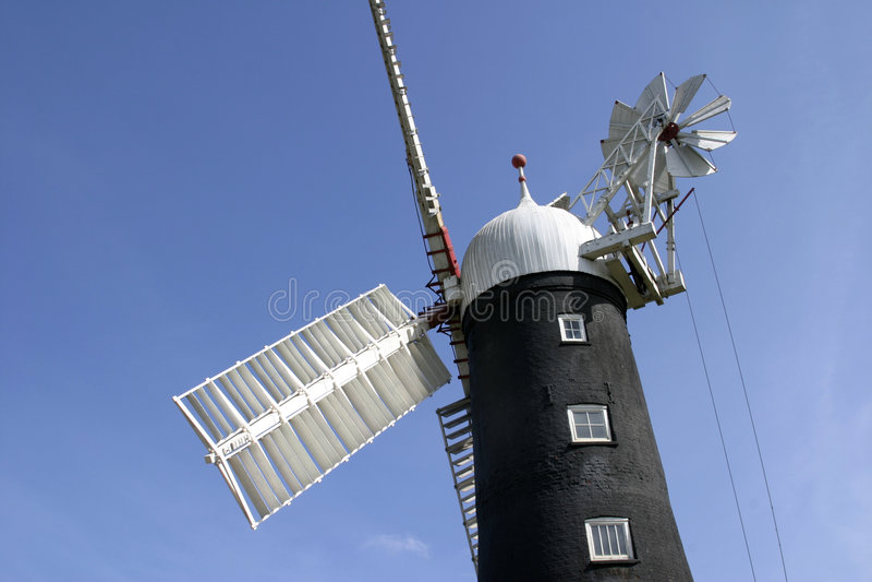 корпус humberside 6955 Англия около skidby ветрянки стоковые изображения