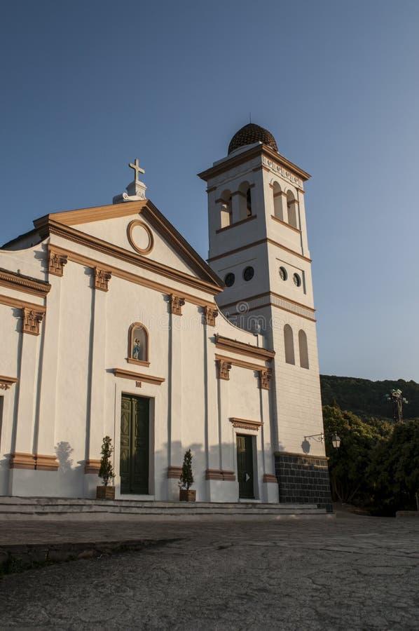 Корсика, Haute Corse, Ersa, Botticella, St Mary рождества, монастырь, церковь, Франция, Европа стоковые фотографии rf