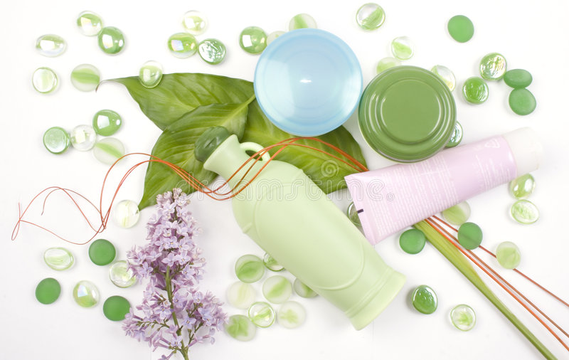 косметики травяные стоковое изображение rf