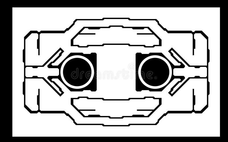 космическая станция конструкции иллюстрация штока
