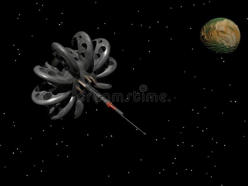 космическая станция орбиты бесплатная иллюстрация