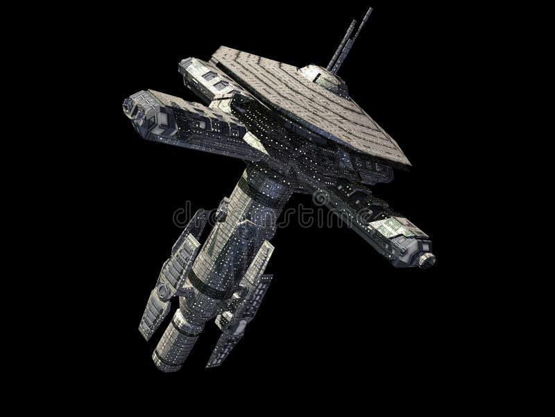 космическая станция иллюстрация штока