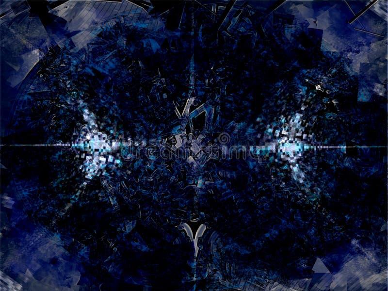 космический взрыв стоковая фотография rf