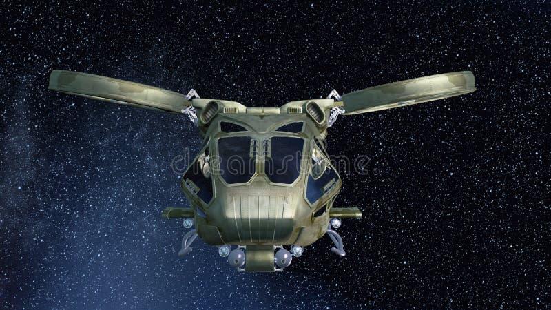 Космический корабль стоковые изображения rf
