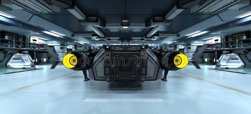 Космический корабль стоковая фотография rf