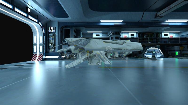 Космический корабль стоковое фото