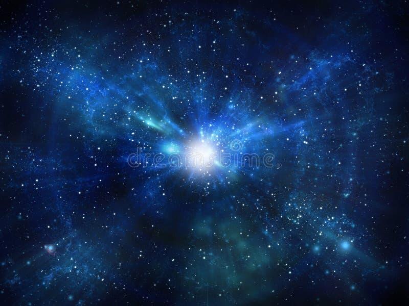 Космический полет иллюстрация штока