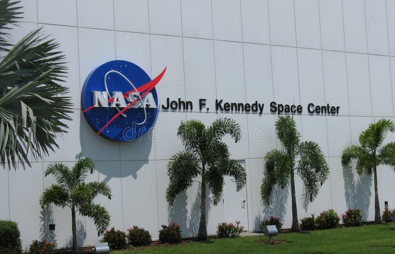 Космический центр Джон Ф. Кеннеди стоковое изображение