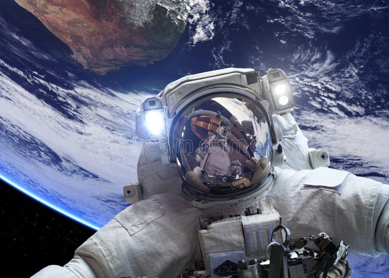космическое пространство астронавта стоковое фото