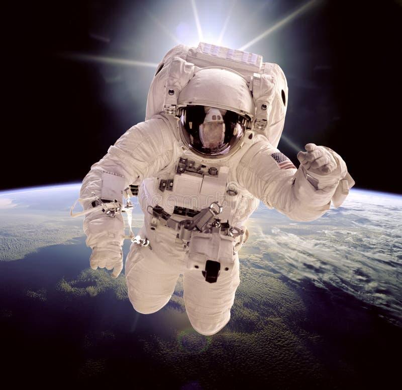 космическое пространство астронавта стоковые фото