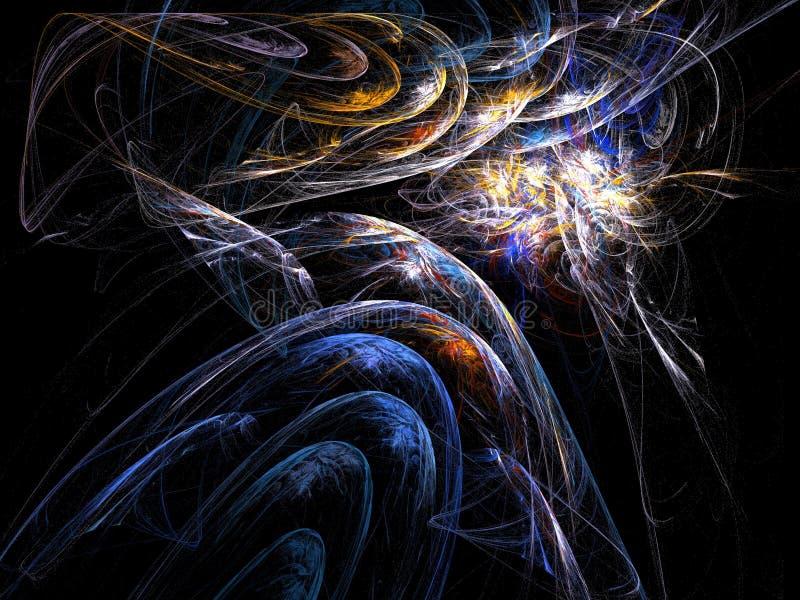 космическое пространство предпосылки иллюстрация штока