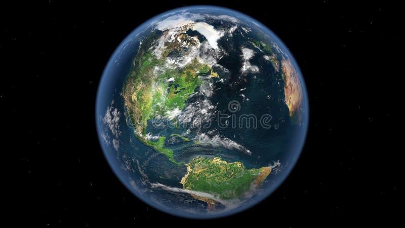 космическое пространство луны земли предпосылки иллюстрация штока