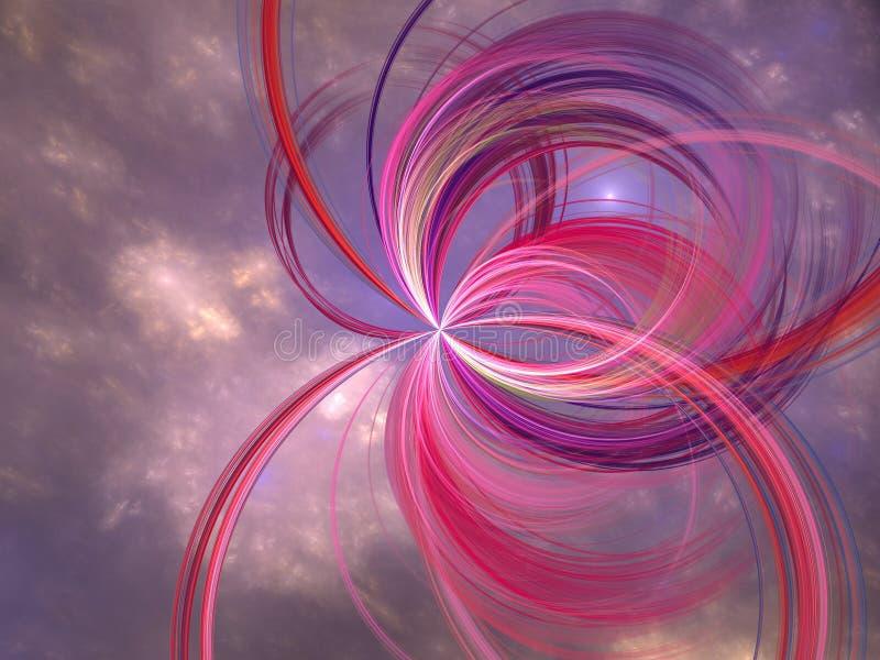 космическое семя иллюстрация вектора