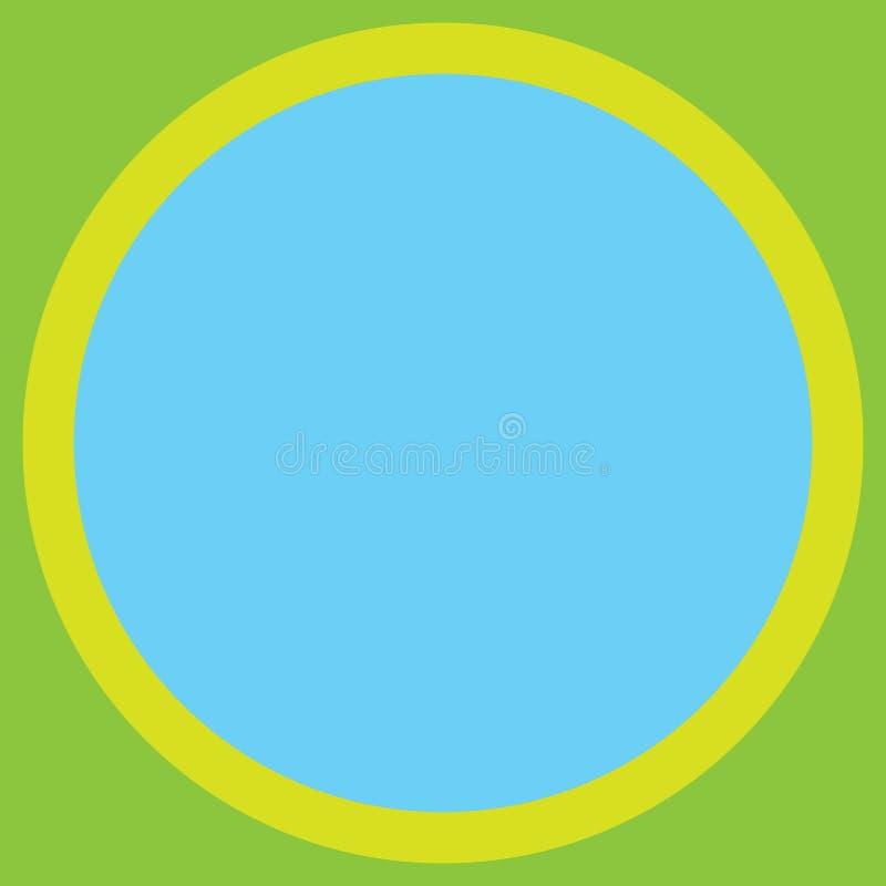 Космоса экземпляра концепции дела дизайна круг предпосылки пустого современный абстрактный с фото округлой формы цвета границы Mu иллюстрация штока