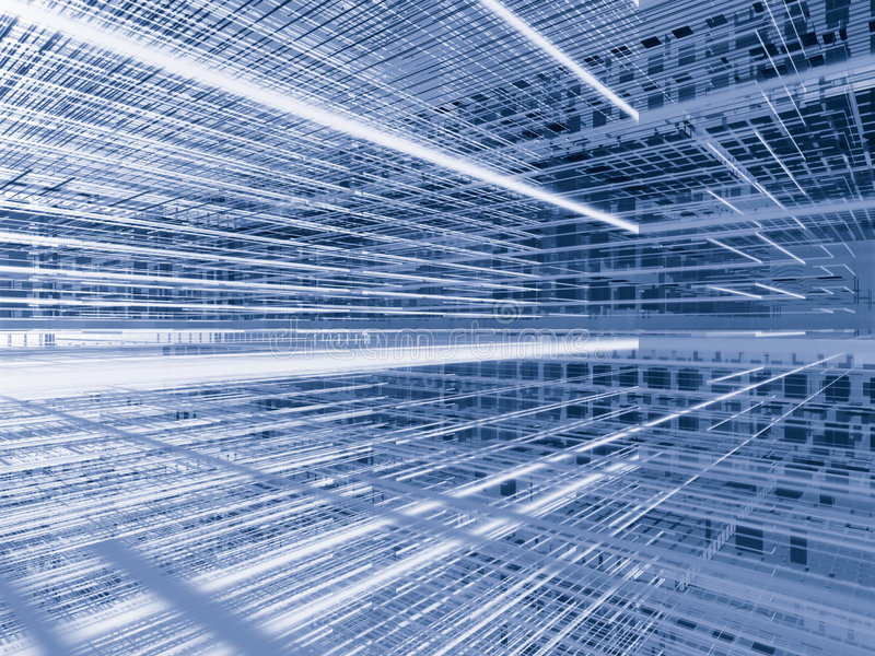 космос волокна серебряный иллюстрация штока