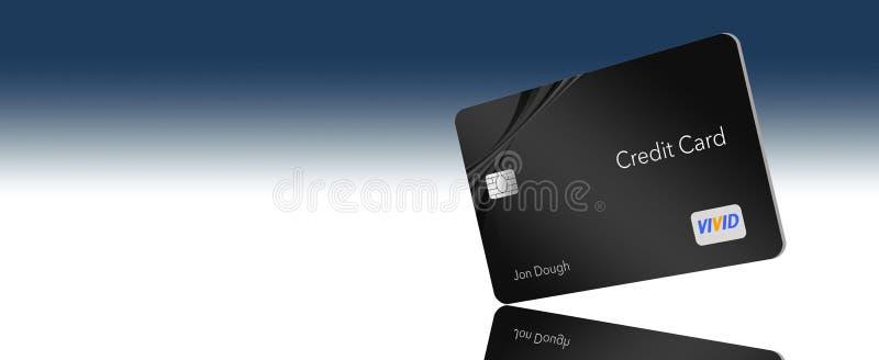 КОСМОС ДЛЯ КРЕДИТНОЙ КАРТОЧКИ ТЕКСТА здесь родовая кредитная карточка с родовыми не-нарушая логотипами и типом который показан с  бесплатная иллюстрация