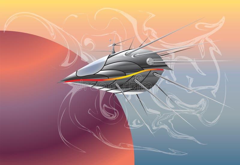 космос корабля иллюстрация штока
