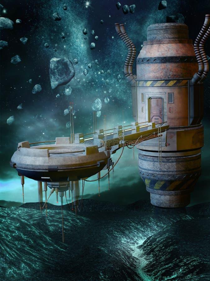 космос ландшафта бесплатная иллюстрация