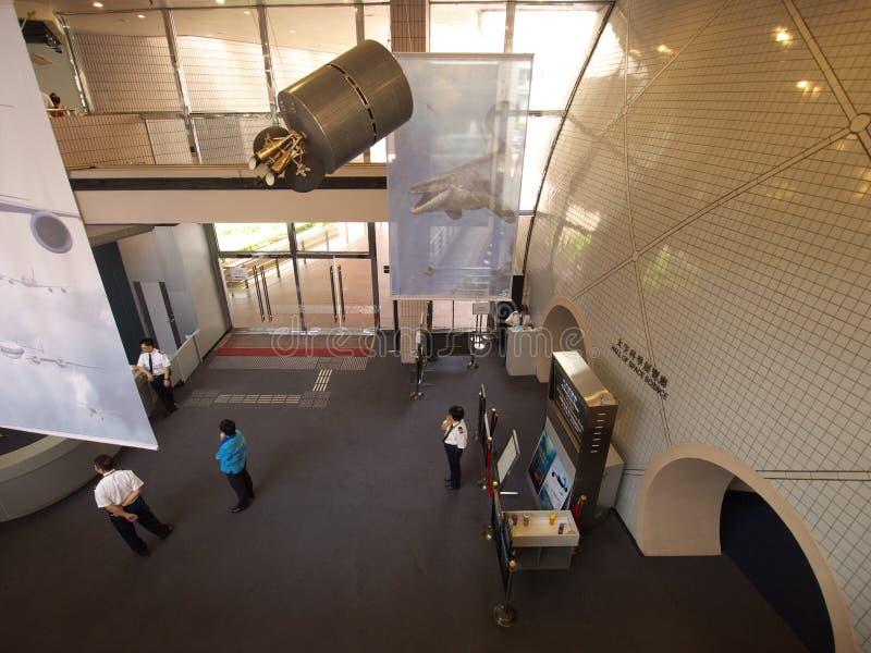 космос музея лобби Hong Kong стоковые фото