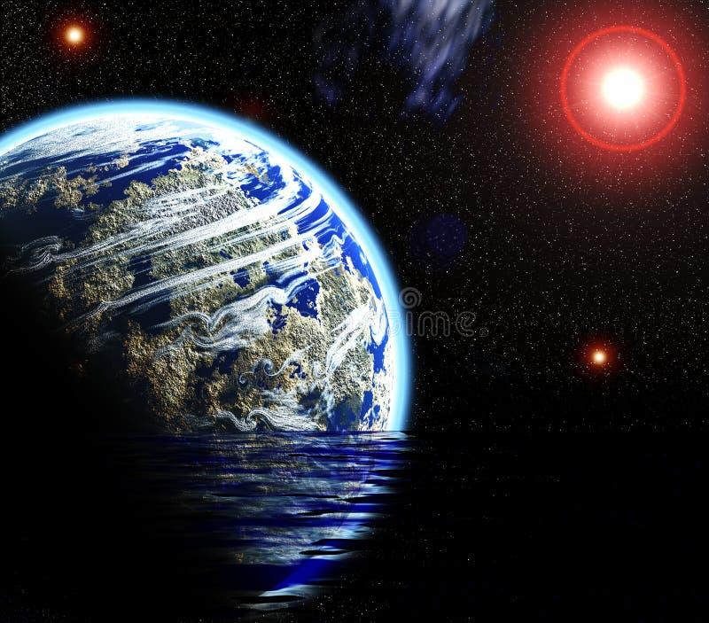 космос планеты стоковое фото rf