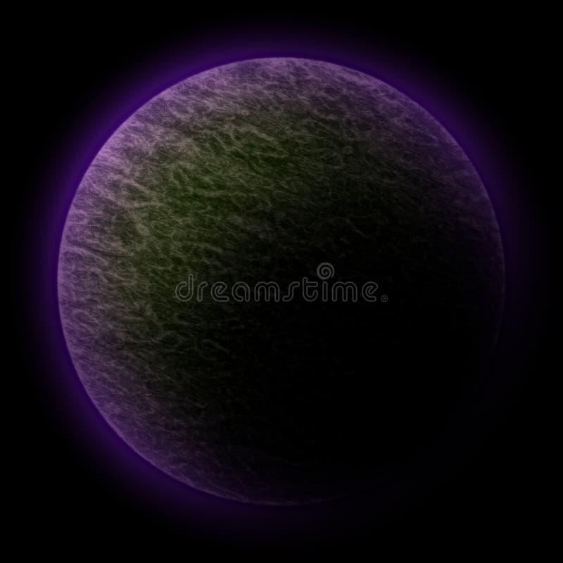 космос планеты иллюстрация вектора