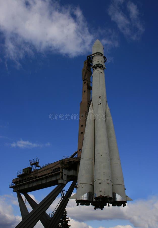 космос реактивного снаряда стоковая фотография rf