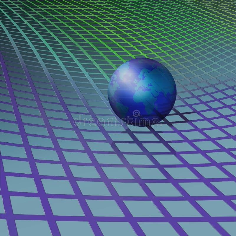 космос ткани иллюстрация штока