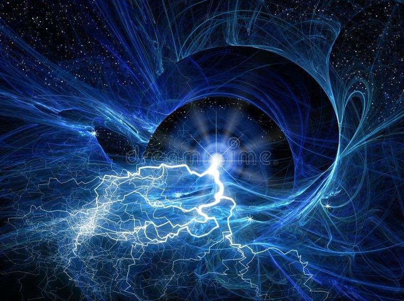 космос фантазии иллюстрация вектора