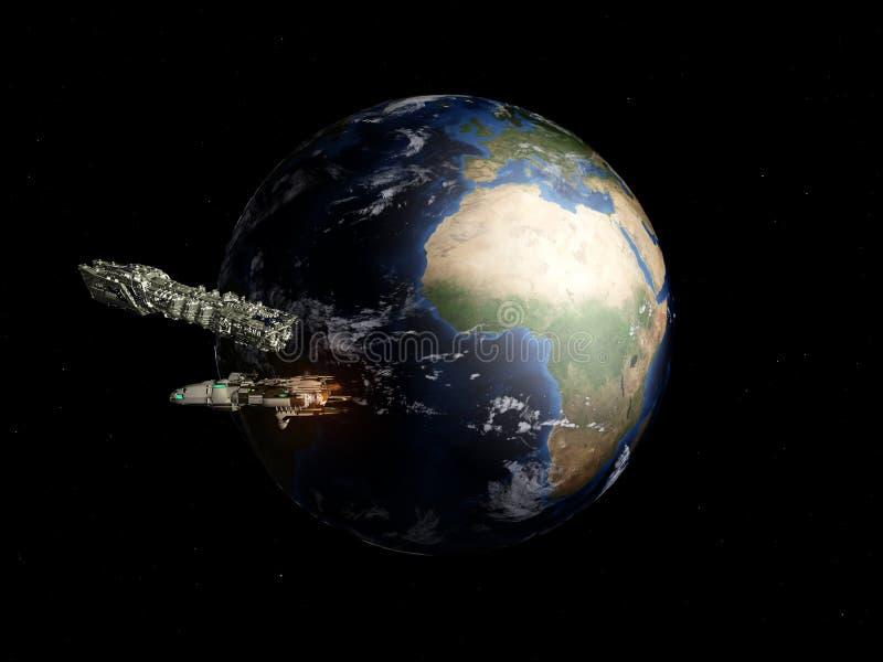 космос 2 иллюстрация штока