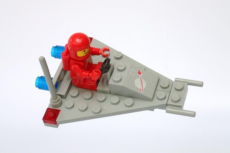 Космос Lego классический не установил никакие 885, самокат космоса стоковые фотографии rf