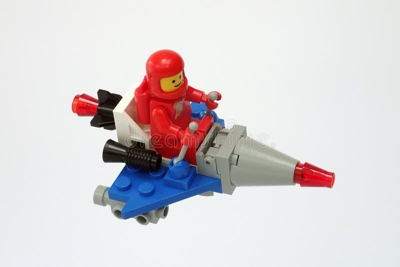 Космос Lego классический установил никакой 1557, самокат стоковое фото rf