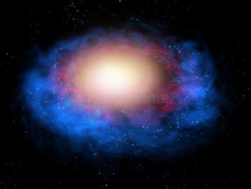 космос nebula иллюстрация штока