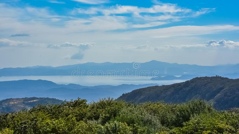 Коста-Рика, панорама стоковое изображение