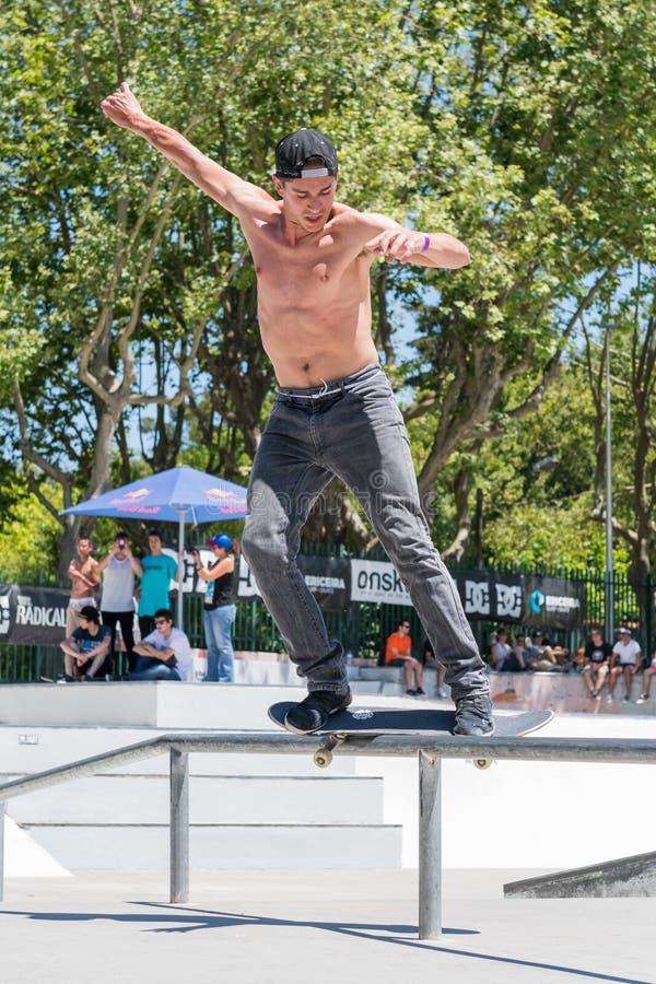 Коста Claudio во время возможности конька DC стоковое изображение rf