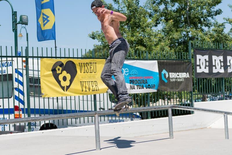 Коста Claudio во время возможности конька DC стоковое фото rf