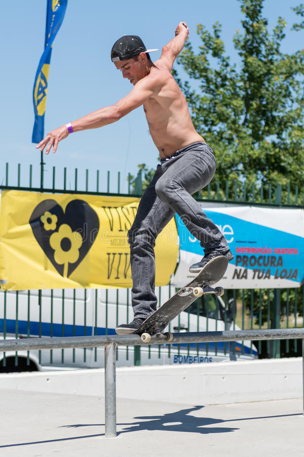 Коста Claudio во время возможности конька DC стоковые фотографии rf
