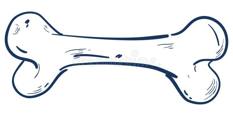 Косточка бесплатная иллюстрация