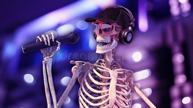картинки скелета с микрофоном светофоры