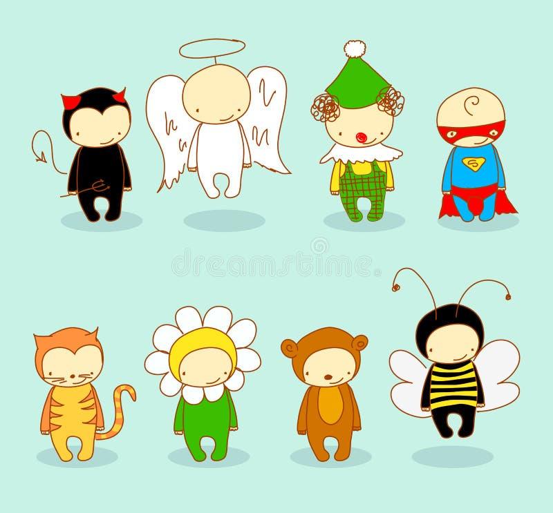 костюмирует милых малышей