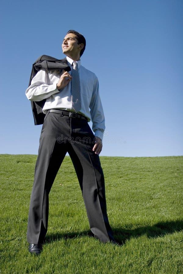 костюм бизнесмена стоковые фотографии rf