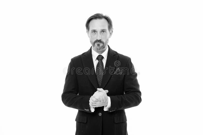 Костюм вдохновляет чувство доверия джентльмена Идеальный костюм для каждого типа парня Носка фотомодели человека красивая зрелая стоковое фото rf