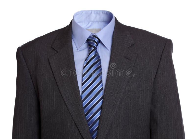костюм дела пустой стоковые изображения rf