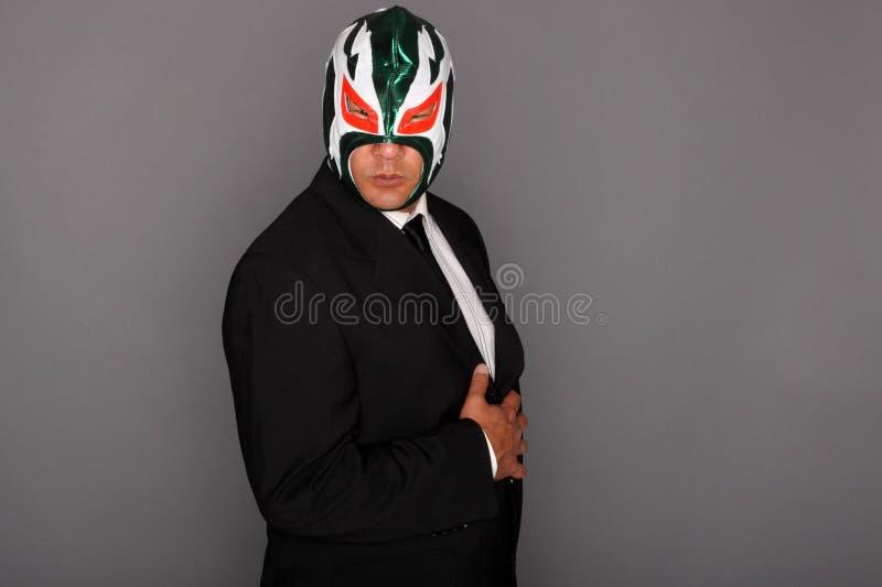 костюм замаскированный человеком стоковая фотография rf
